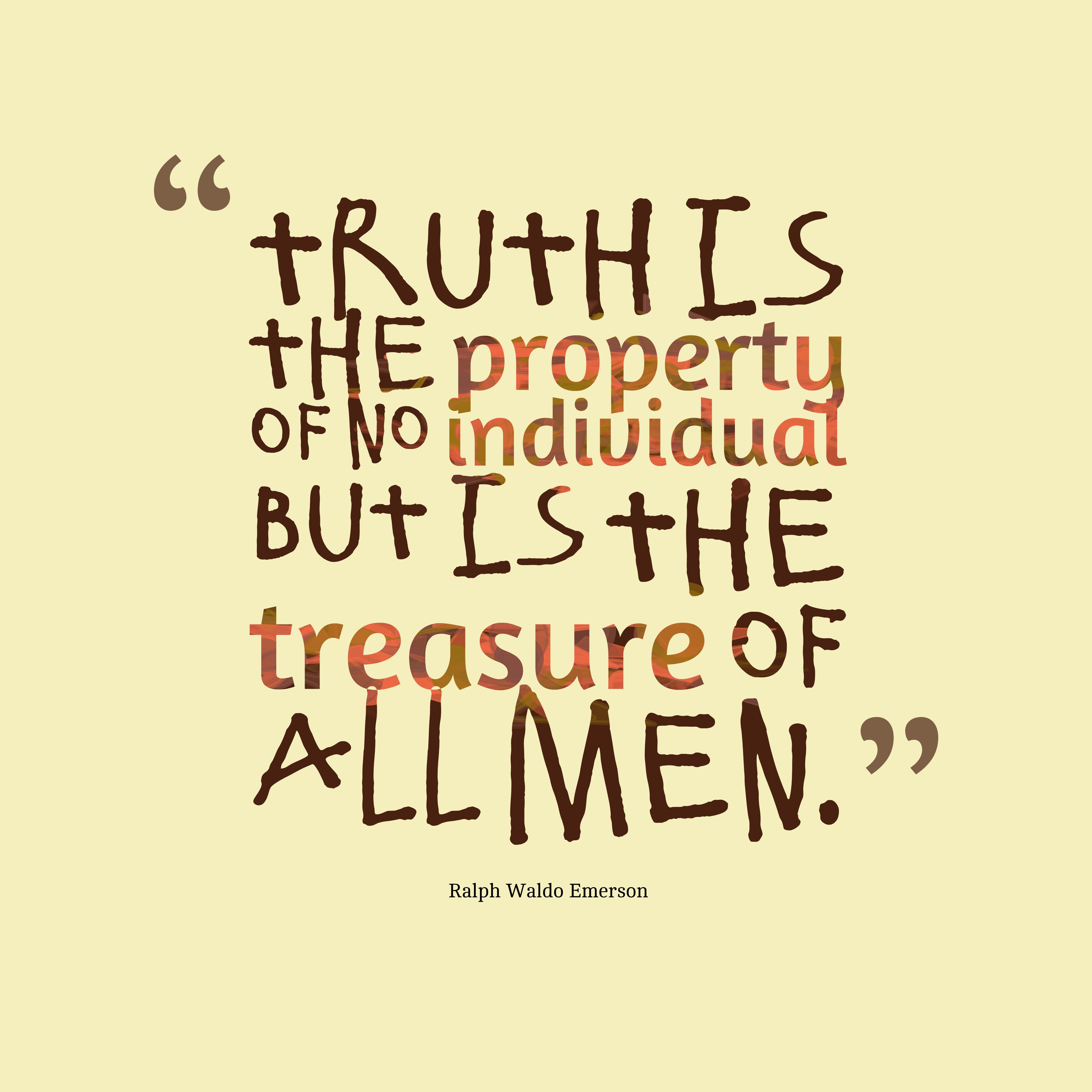 Essay on truthfulness